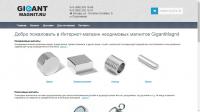 Рекламная кампания магазина магнитных материалов GigantMagnit.ru