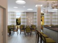 Дизайн-проект ресторана в гостинице