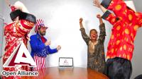 Новогодний корпоративный ролик группы компаний Open Alliance
