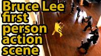 рекламный ролик (боевой шуточный клип) приложения Bruce Lee JKD