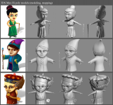 Hy poly characters