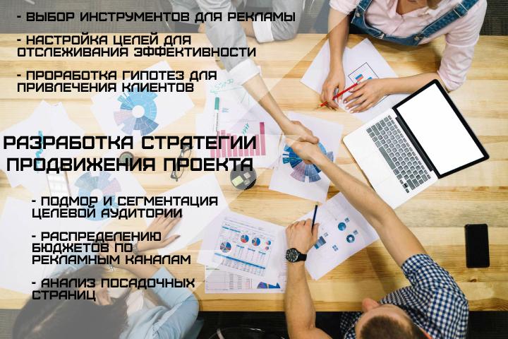 Разработка стратегии продвижения проекта