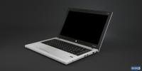 низкополигональный ноутбук HP