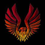 Phoenix low poly