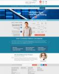 Верстка официального сайта сети клиник Fairfax