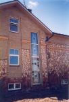 ИЖД в Нахабино. Фото с натуры. Фрагмент фасада. 2007 г.