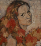 Осенний портрет (Холст, масло)