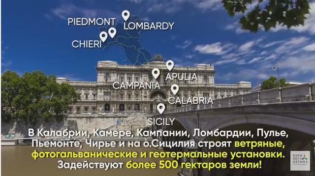Сценарий ролика для павильона Италии на EXPO 2017