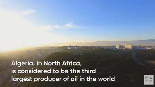 Сценарий ролика для павильона Алжира на EXPO 2017