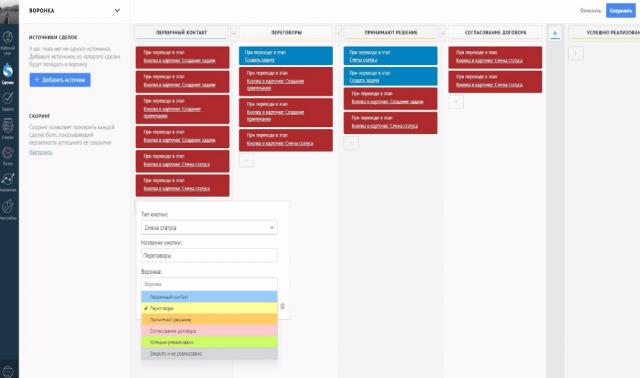 Разработка индивидуальных виджетов для AmoCRM