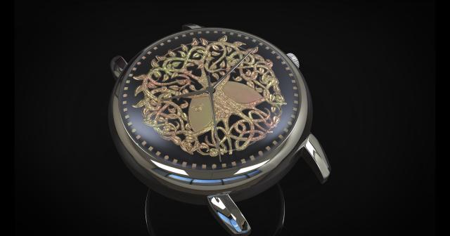 clock. the tree of life
