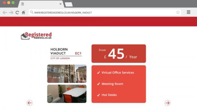 Презентация для сайта registeredaddress.co.uk