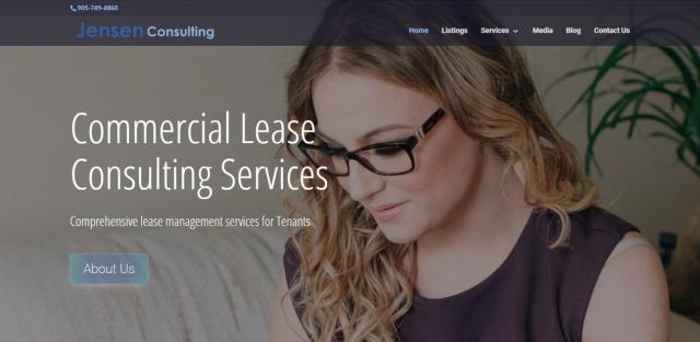 JensenConsulting Сайт канадской консалтинговой компании