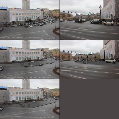 визуализация будущей парковки, Спб