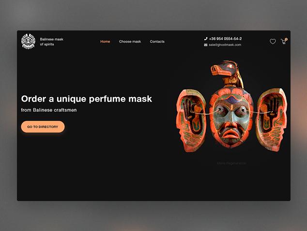 Balinese masks spirits