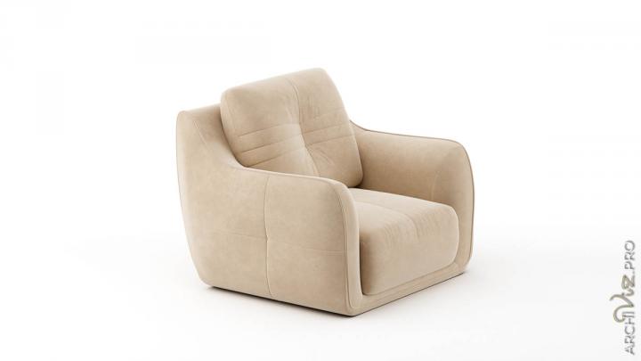 Моделирование и визуализация кресла Corsica
