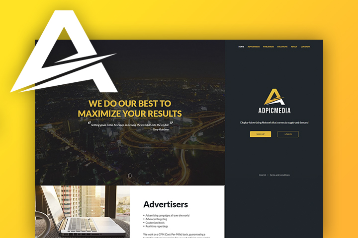 AdPicMedia - The Display Advertising Network