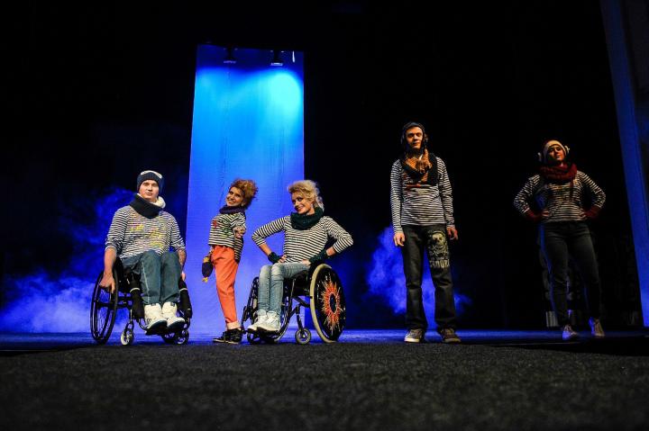 Инвалиды и подиум - социальный мультимедийный проект