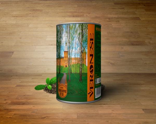 Концепция для подарочной банки чая к юбилею г.Великий Новгород