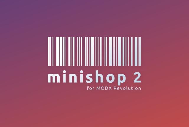 MODX Revo+miniShop2 - интеграция решений для интернет-коммерции