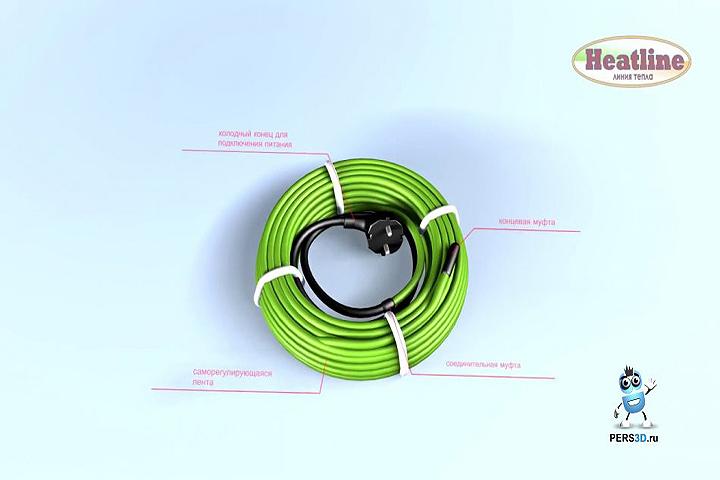 3d анимация - Heatline Антифриз (видео инструкция)