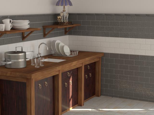 Кухня (моделирование и визуализация Corona)