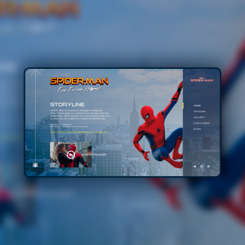 Spider-Man: Far From Home - Movie Site