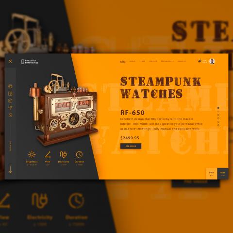 Steampunk Watch Store