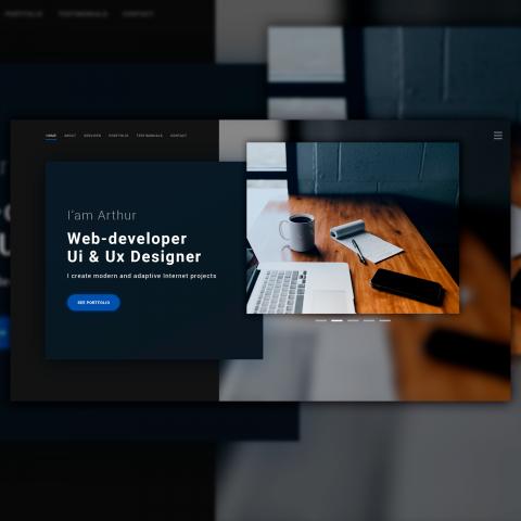 Web-Developer Website