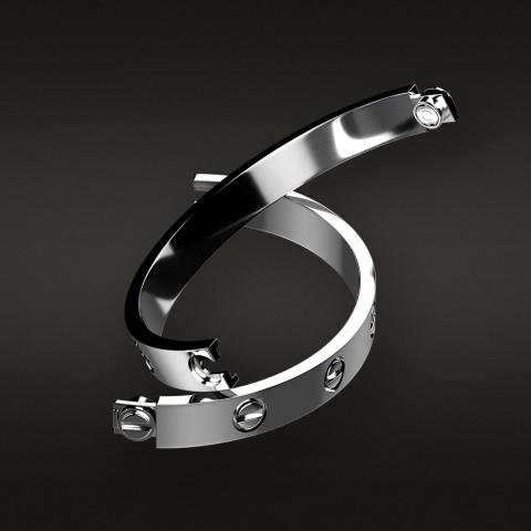 "Cartier ""LOVE"" bracelet replica"