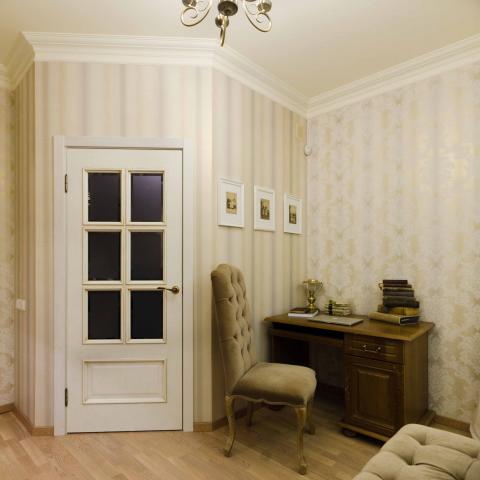 Реализованный дизайн проект интерьеров жилого помещения