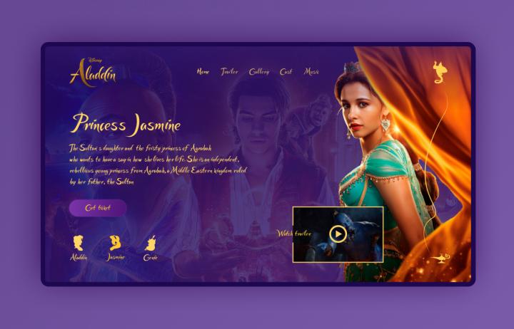 Aladdin - Movie Site