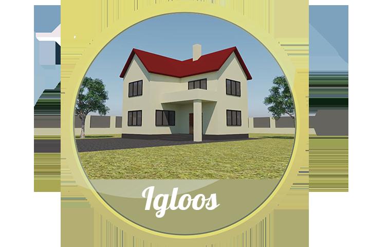 3DПрезентация садового гидранта «WOODFORD» для  «IGLOOS»
