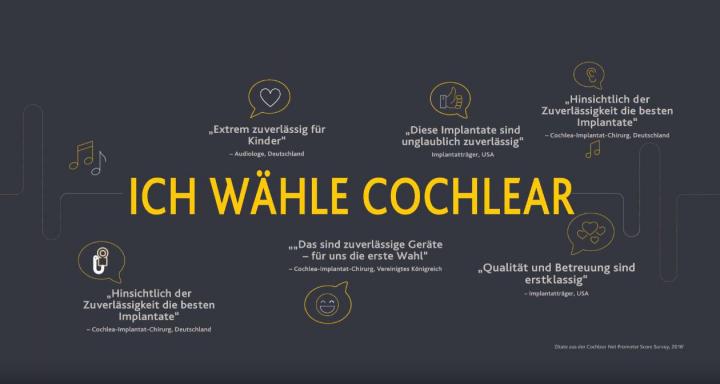 Рекламный ролик слуховых аппаратов Cochlear