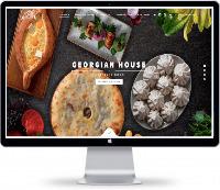 Сайт для ресторана Грузинской кухни