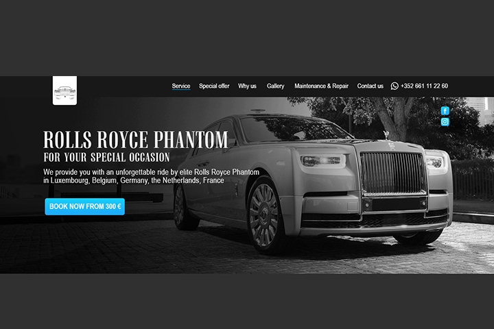 LP Rollce Royce rent