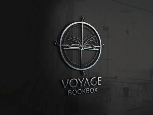 """Логотип для доставки книг из разных точек света """"BookBox"""""""