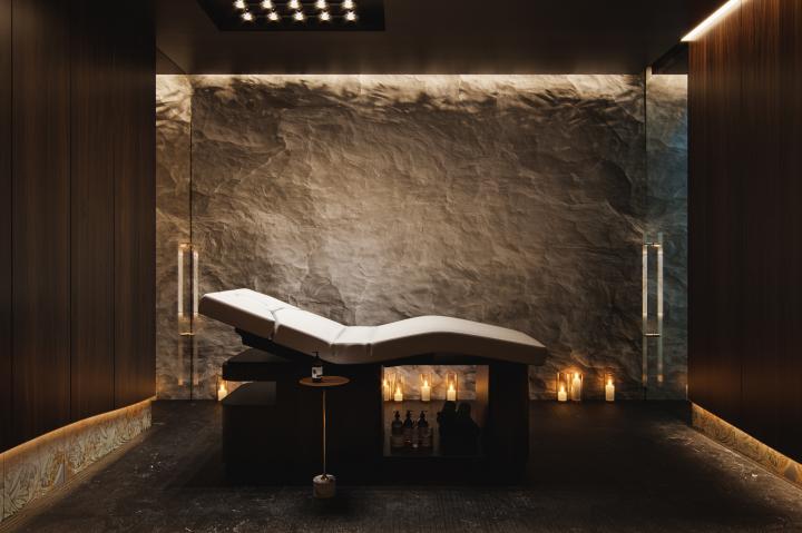 Комната для массажа.