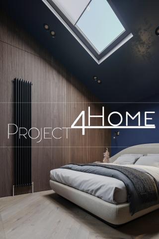 Дизайн-проект гостевого дома 125 м2 - (спальня)