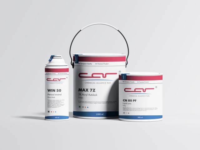 Логотип и упаковка для производителя автохимии