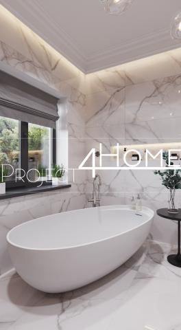 Дизайн-проект коттеджа 170 м2 (интерьер) - ванная комната на 2 э