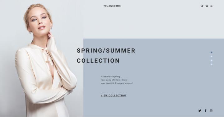 Интернет-магазин изысканой женской одежды