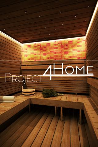 Дизайн-проект гостевого дома 125 м2 (сауна и предбанник)