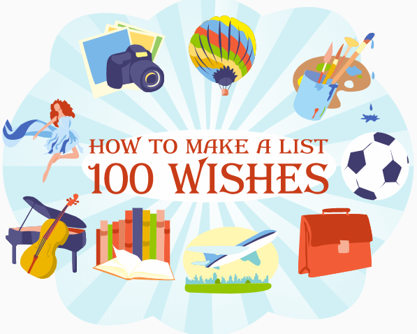 List of 100 human wishes