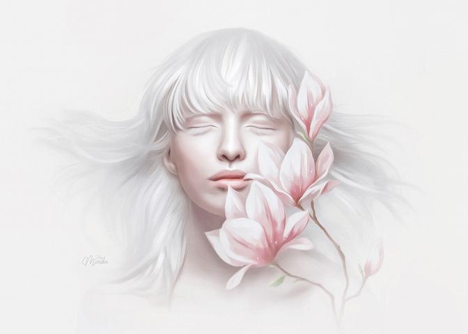 Albino Alice (Mesmerizing style)