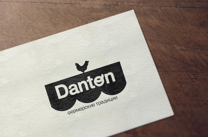 Дантон птицепром. ребрендинг логотипа