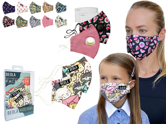 Ретушь коллекции декоративных масок