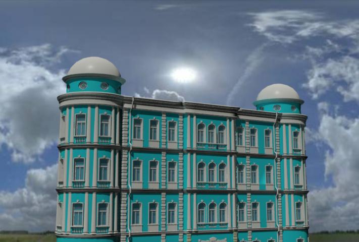 Здания для рекламы Укрсиббанка