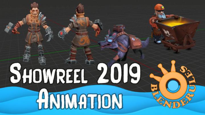 Шоурил 3д-анимация 2019