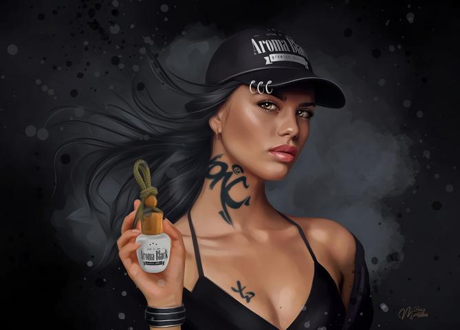 Aroma Black (Digital art)